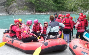 Rafting around the Camping Alpes Dauphiné