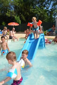La piscine pour les enfants