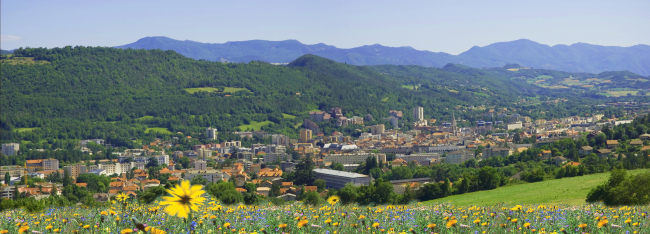 Panoramic view of the city of Gap
