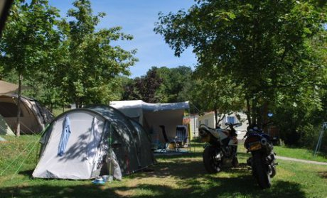 Campsite pitches Camping Alpes Dauphiné