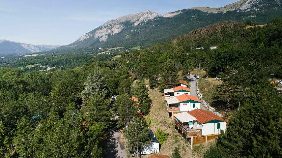 Chalet Havitat  Camping Alpes Dauphiné